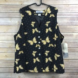 Norton McNaughton Vintage Butterfly Vest (NW4)